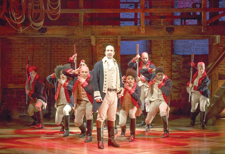Hamilton has earned a record number of nominations.