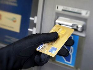 Thieves are using skimmers.