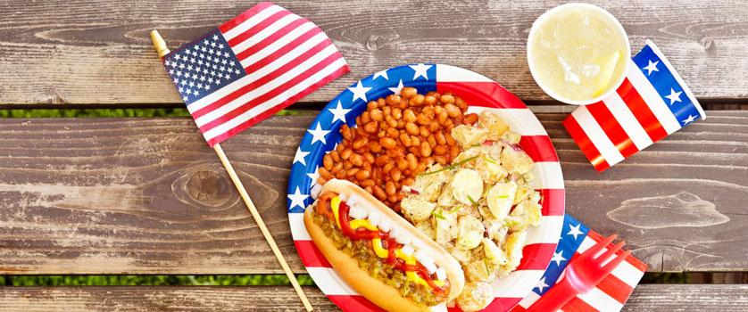 Enjoy a Memorial Day picnic.