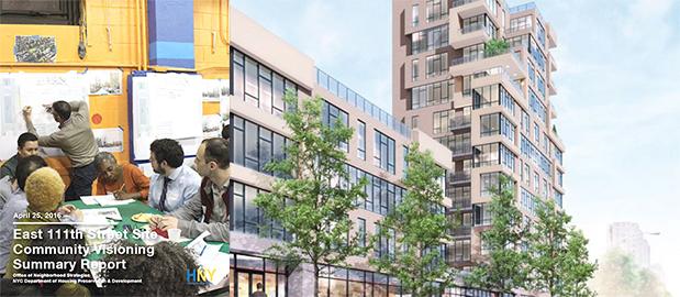 City to redevelop entire East Harlem block<br>Remodelación  de manzana completa de East Harlem