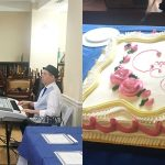 Live music and cake.