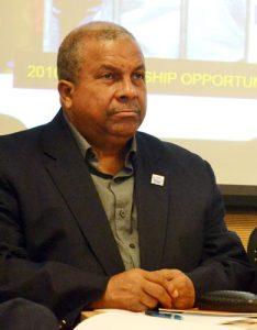 Board member Leonard Iván Domínguez.