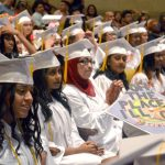 72 students were honored at commencement.