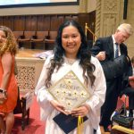 """""""They pushed me to be outspoken,"""" said co-valedictorian Julie Anne Lim."""