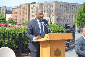 """The marriage between green spaces and technology benefits all park users,"" said Parks Commissioner Mitchell J. Silver."