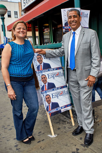 """I've known Adriano for years,"" says Mark-Viverito. Photo: C. Vivar"