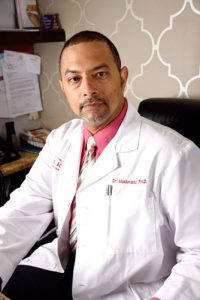 """""""People need to prepare themselves,"""" says Dr. Carlos Maldonado."""