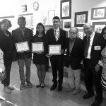 Local high school seniors were recognized.