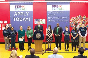 The Pre-K initiative has expanded under the de Blasio administration.