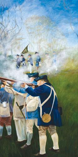 Battle of Fort Washington.