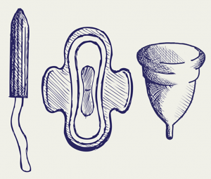 The legislation concerns feminine hygiene products.