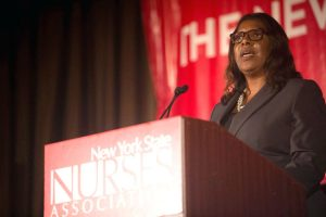"""""""Too often, you aren't recognized for the work that you do,"""" said Public Advocate Letitia James."""