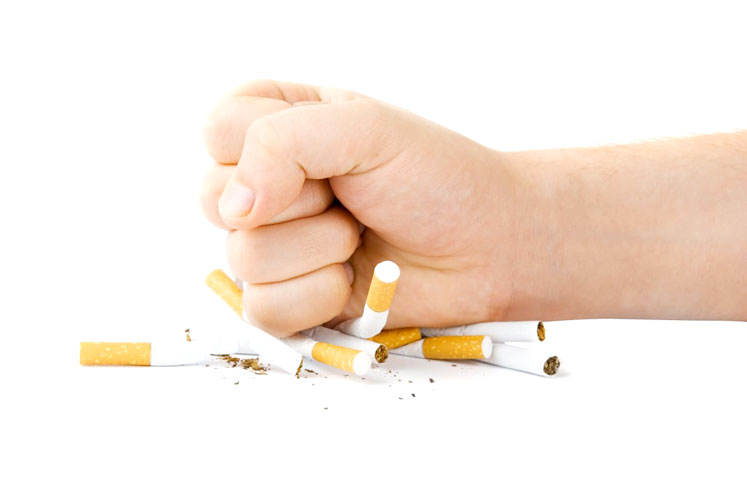 Go smoke-free.