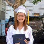 """""""This school challenges you,"""" said Teresa Pantoja."""