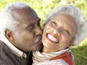Physical intimacy continues as we age.