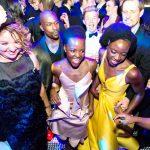 Lupita Nyong'o (left) and Danai Gurira own the floor.