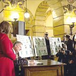 Mayor Bill de Blasio made it official in February.