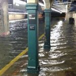 Superstorm Sandy flooded many subway stations.