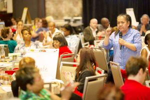 The conference drew nurses from across the state.