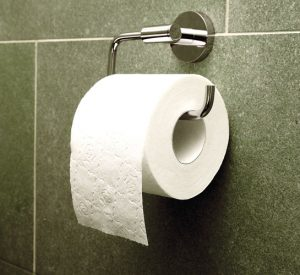 Toilet paper is free at public facilities.