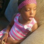 Myahliah Domínguez has been undergoing chemotherapy treatments for about a year and a half.