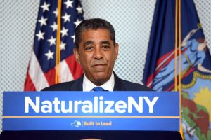 """This gives eligible immigrants the helping hand they need,"" said Senator Adriano Espaillat."