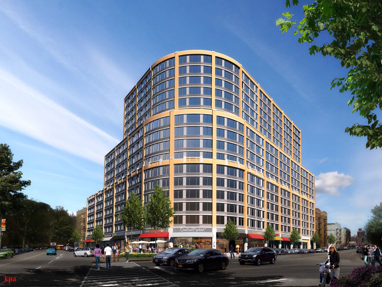A rendering of the development. Photo: KPA Architects
