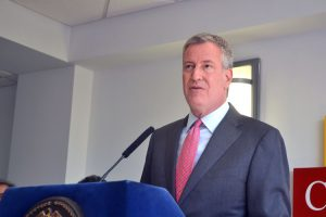 """[This] is another resource for low-income and immigrant women entrepreneurs,"" said Mayor Bill de Blasio."