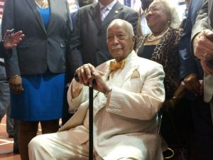 """""""We owe the generations behind us the opportunity to achieve their potential,"""" said Dinkins."""