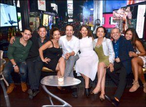 The Miranda family gathers to celebrate the last night.