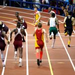 The Armory now hosts more than 100 track meets a year.