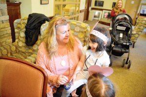 Child Day Care Director Dr. Karen Ellefsen.