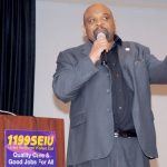 """Our friends, families, and neighbors will remain barred from doing basic things,"" said 1199SEIU President George Gresham."