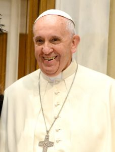 Pope Francis made the announcement in March 2015.