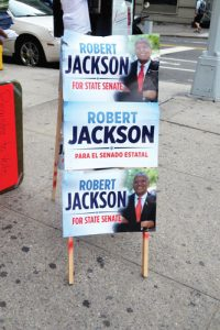 Jackson previously ran for the Senate seat in 2014.