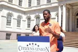 """""""There is a lot to still do,"""" said Councilmember Jumaane Williams."""