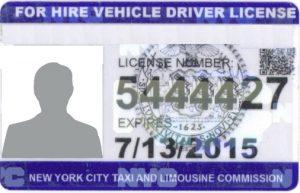 A TLC license.