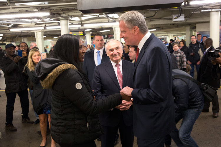 """""""This was the right time,"""" said Bratton about his resignation."""