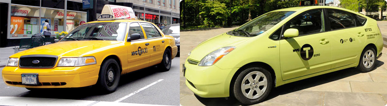 There will now be a single license for taxi drivers.
