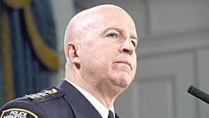 Incoming Police Commissioner James O'Neill.