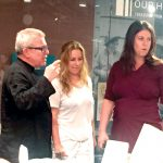 From left to right: Architect Daniel Libeskind, Rachel Libeskind and Rachel Lithgow, the AJHS's Executive Director.