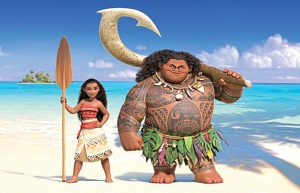 He is finishing music for the film Moana.