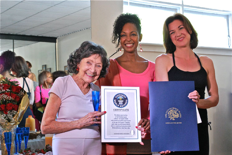 "Jane Porchon-Lynch was named ""World's Oldest Yoga Teacher"" in 2012 by Guinness World Records."