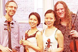 The uptown Klang Quartethas performed.