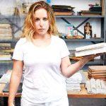 The artist Rachel Libeskind at work. Photo: AJHS