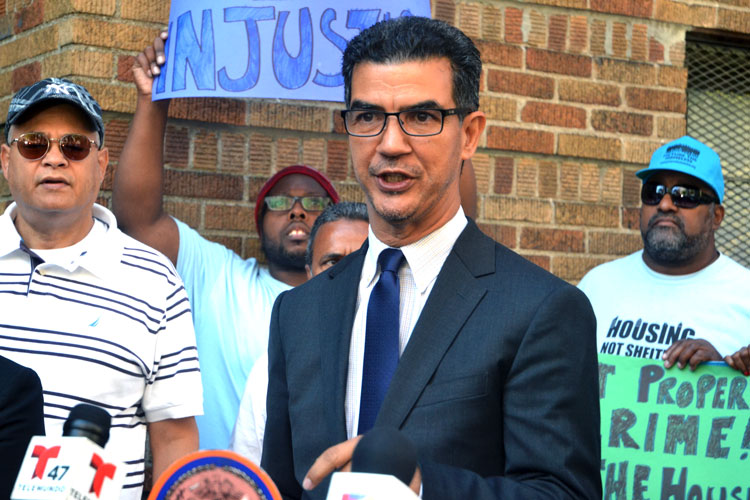 """""""There's a crisis of housing,"""" said Councilmember Ydanis Rodríguez."""
