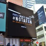 The ads were unveiled in Times Square.