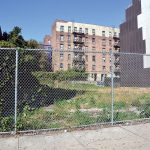 The lot at 4849 Broadway has remained vacant for three decades.