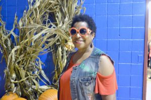 Maisha Thompson has volunteered for 15 years.