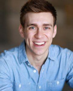 Evan Maltby plays Emmett.